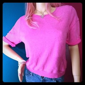 JUICY COUTURE Pink speckled Top Medium